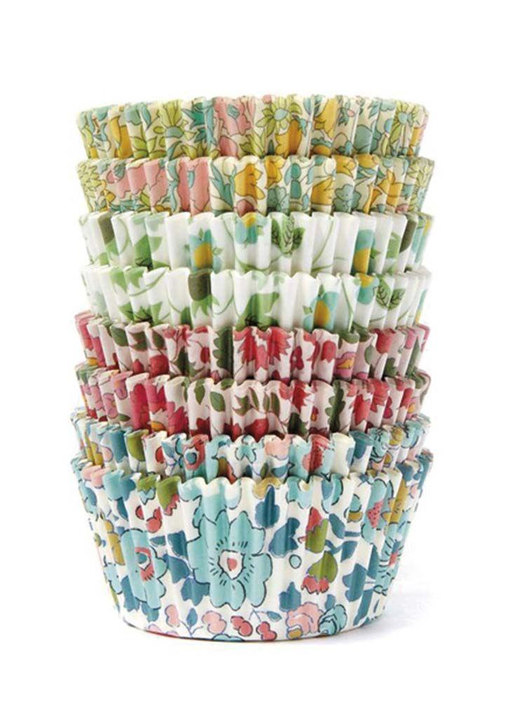 Cápsulas de flores para cupcakes