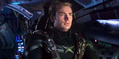 Captain America in Avengers: Endgame TV spot