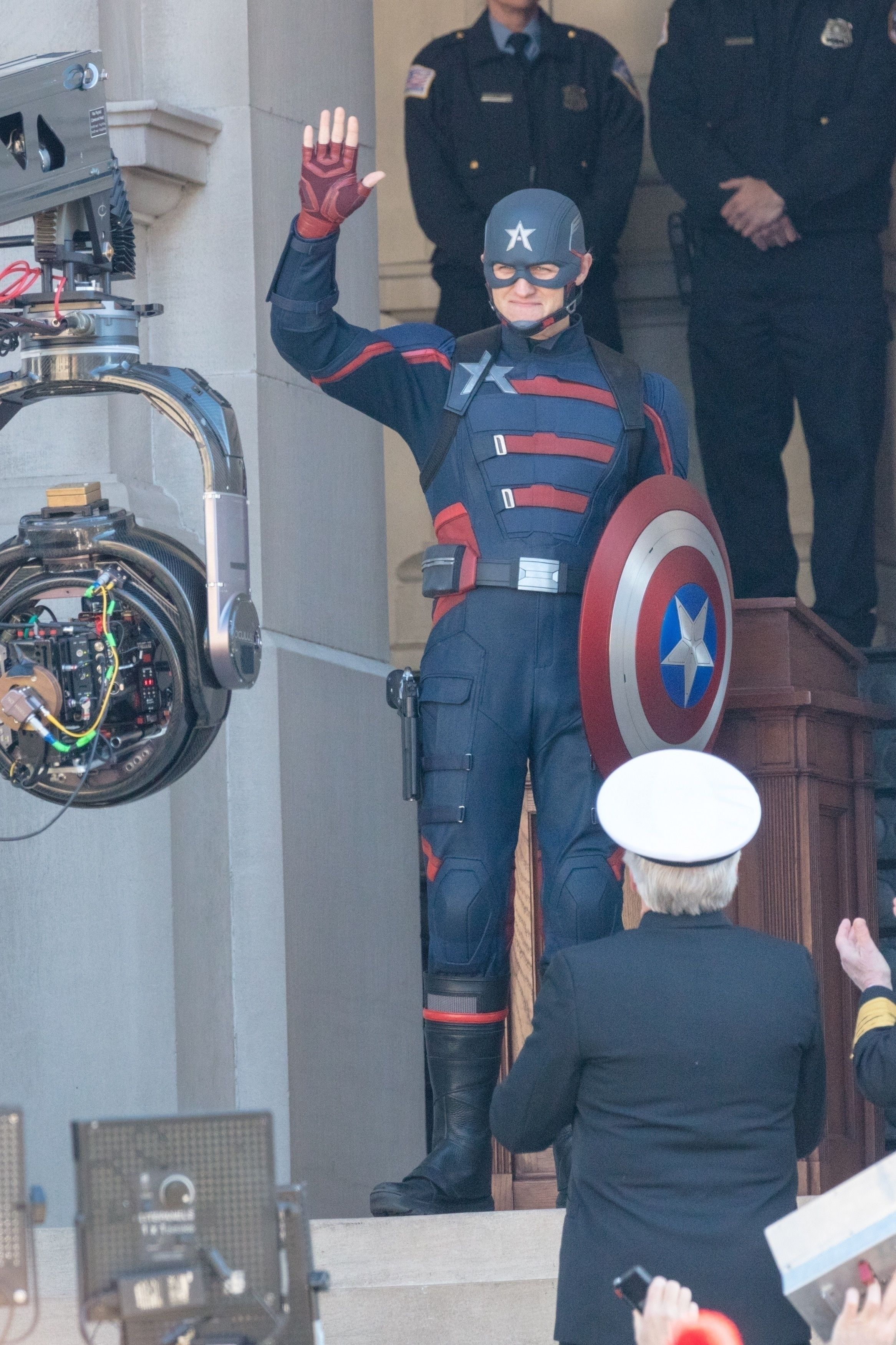 Marvel's Falcon and the Winter Soldier unveils first look at 'the new Captain America'