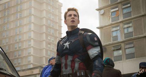 Крис Эванс собирается вернуться в роли Капитана Америки в MCU