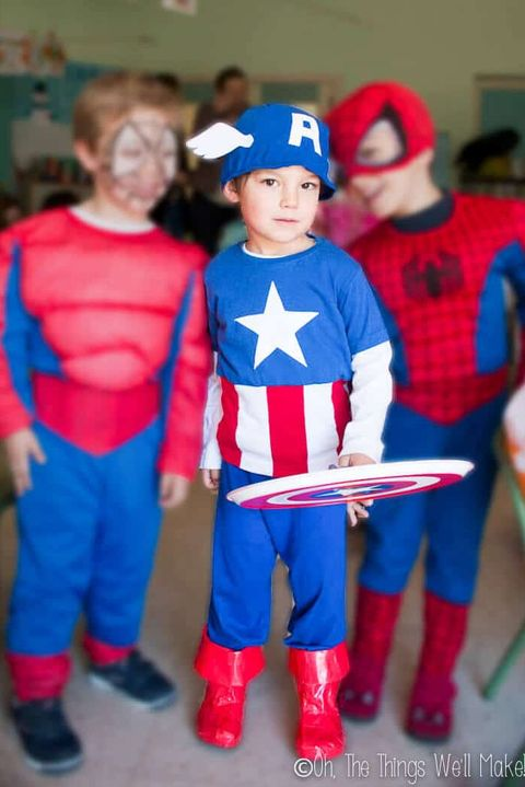 captain america the avengers costume