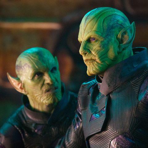 Captain Marvel, Skrulls