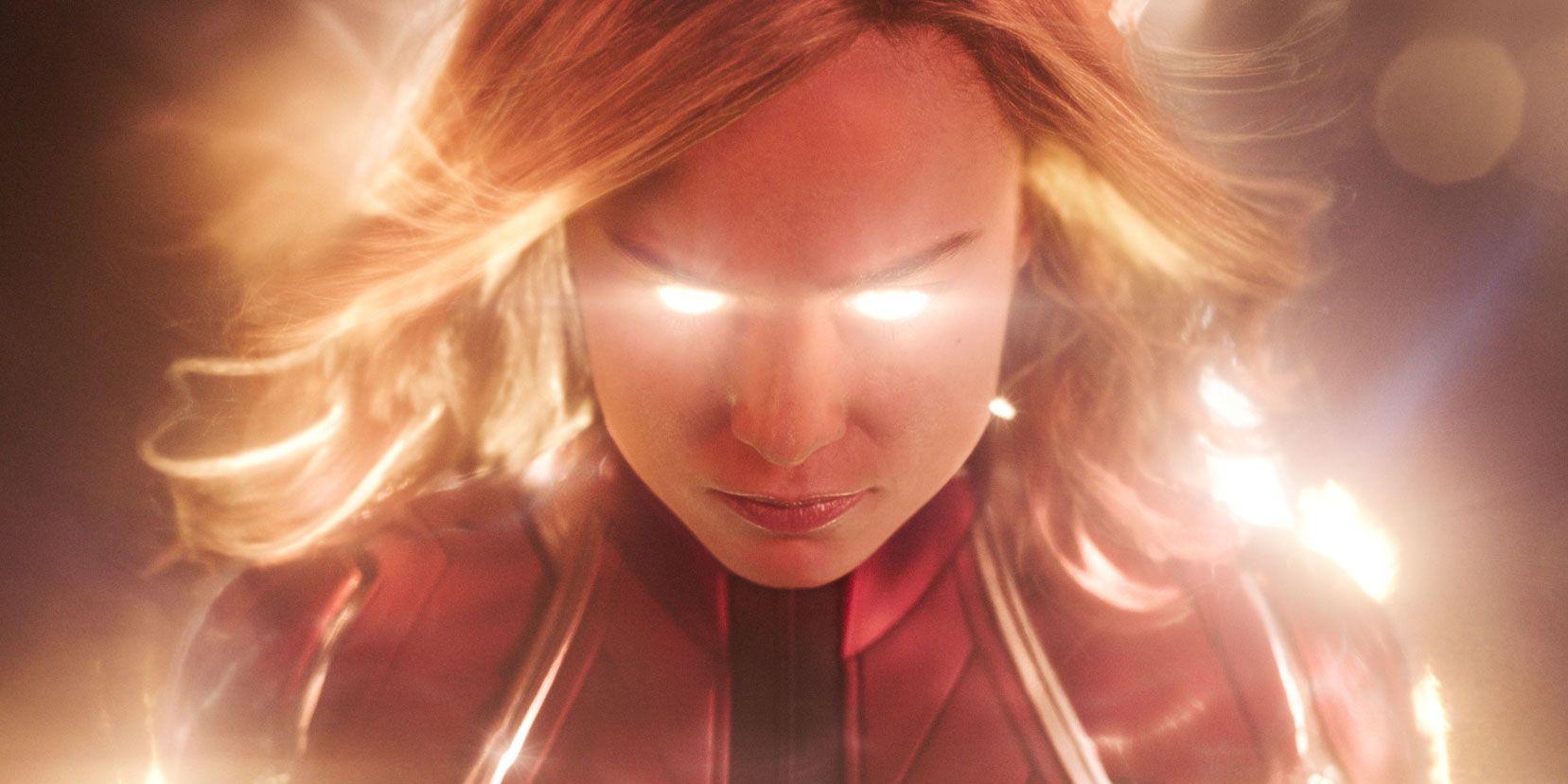 Brie Larson alias Carole Danvers aka captain marvel