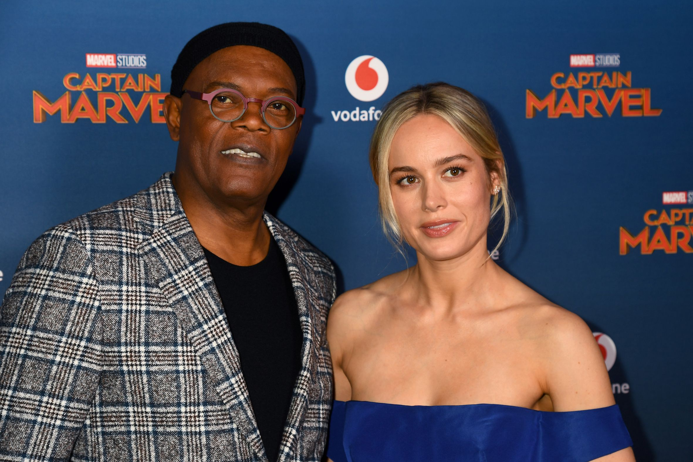 Captain Marvel's Brie Larson and Samuel L Jackson bonded over hating the  same people