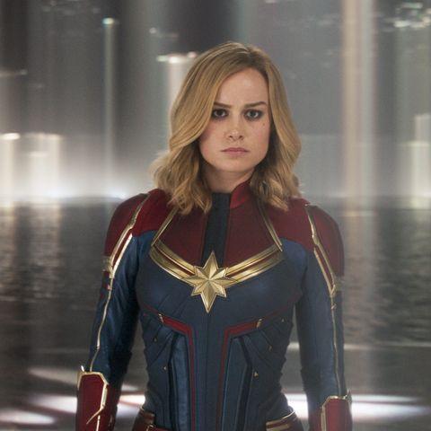 Captain Marvel, Brie Larson,