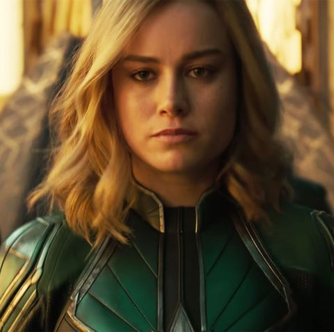 The First Captain Marvel Trailer Is Finally Here And It Features A