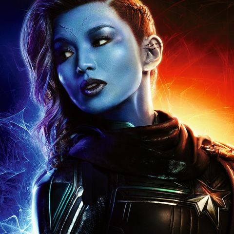 Image result for gemma chan captain marvel