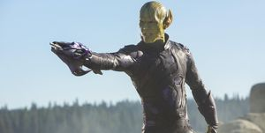 Captain Marvel Skrull Talos
