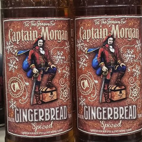 Captain Morgan Gingerbread Is On