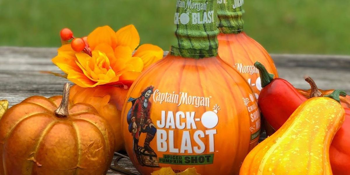Captain Morgan's Jack-O'-Blast Pumpkin Spiced Rum Is Ideal For Fall Cocktails