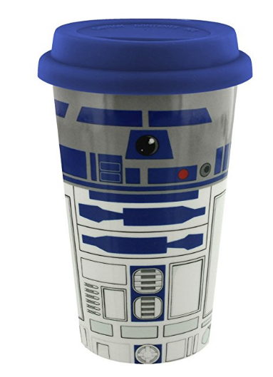 R2-d2, Plastic, Fictional character, Drinkware, Tableware,