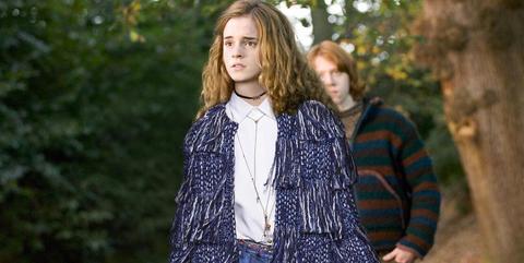 Harry Potter vestido de Dior
