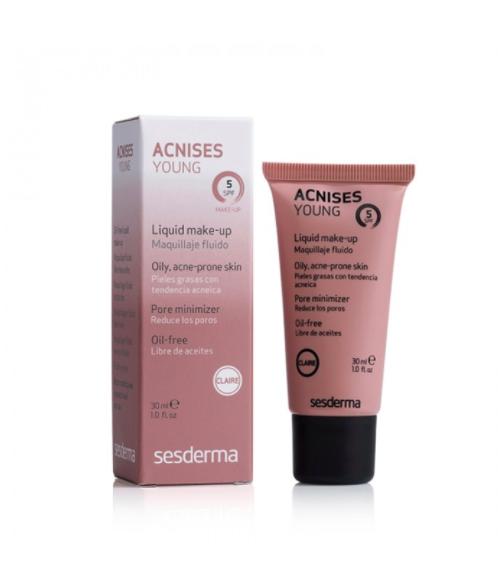 Maquillaje dermatologico para piel acné