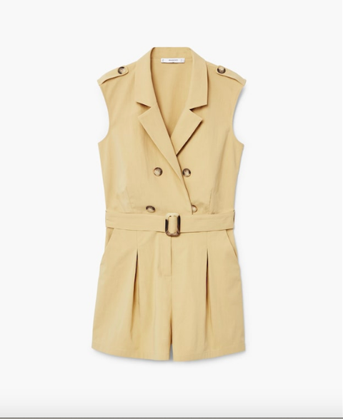 Clothing, Outerwear, Trench coat, Coat, Beige, Tan, Sleeve, Jacket, Formal wear, Collar,