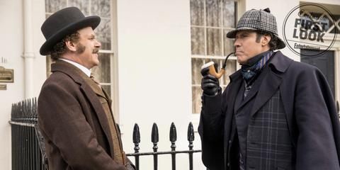 Primera imagen deJohn C. Reilly y Will Ferrell en 'Holmes and Watson'