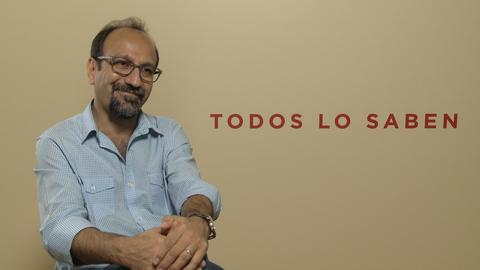 Asghar Farhadi entrevista Fotogramas 'Todos lo saben'