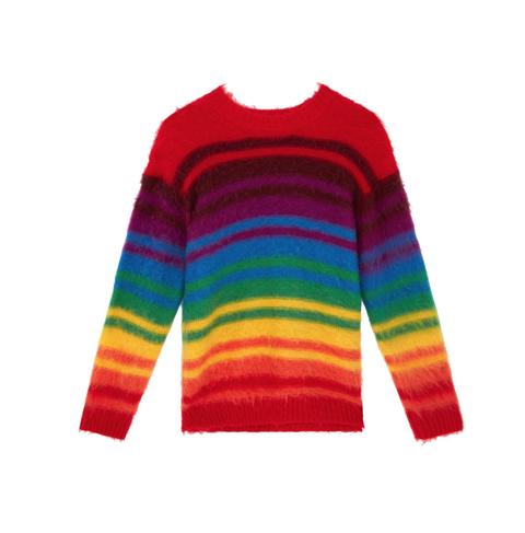 Clothing, Sweater, Orange, Sleeve, Wool, Long-sleeved t-shirt, Yellow, Outerwear, T-shirt, Woolen,