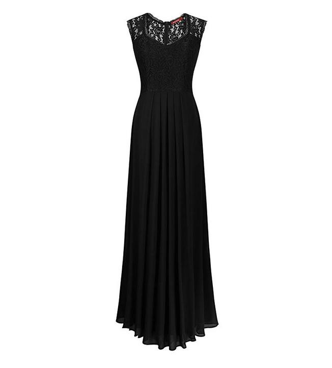 vestidos negros halloween