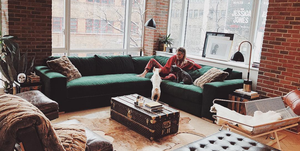 El apartamento de la influencer Danielle Bernstein de We Wore What en Nueva York