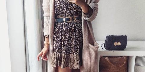 Vestido Que Y Todo Leopardo Tiene Instagram Zara El De 0wnNmv8