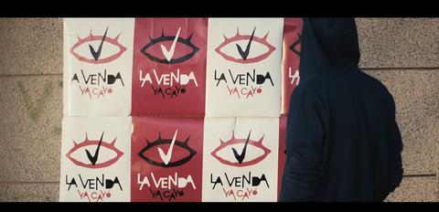 Imágenes del videoclip de la venda en Eurovision