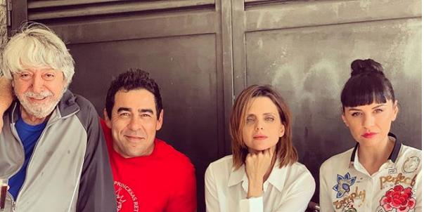 Macarena Gómez, Vicente Romero, Pablo Chiapella y Miren Ibarguren piden el estreno de la temporada 11