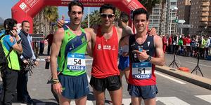Campeones de España de 20km marcha
