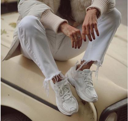 En consecuencia Abuelo emocionante  Así llevan las Nike 'M2k Tekno' las mujeres que más saben de estilo en  Instagram