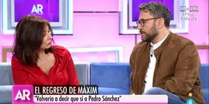 Maxim Huerta se sincera en El Programa de Ana Rosa