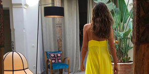 Sara Carbonero vestido amarillo