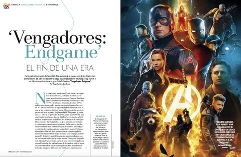 "Reportaje ""Vengadores: Endgame"""