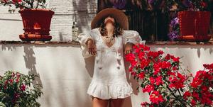 Vestidos blancos románticos