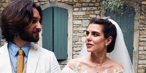 boda Carlota Casiraghi y Dimitri Rassam