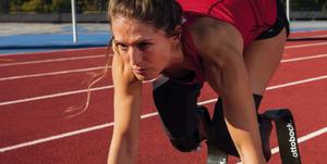Sara Andrés Barrio, campeona en atletismo paralímpico