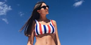 Bikinis Bañadores rayas