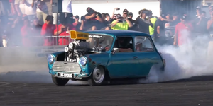 Mini V8 Supercharged drift