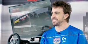 Fernando Alonso GRID video