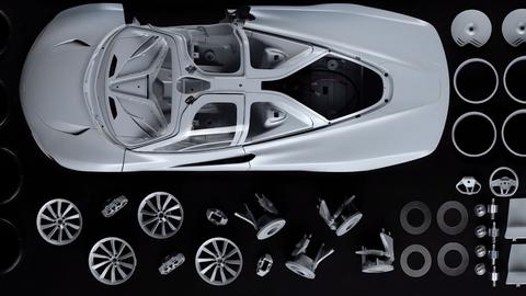 McLaren Speedtail replica 1:8 Amalgam Collection