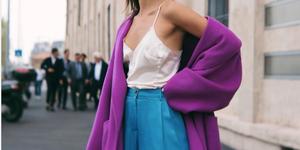 prendas color violeta