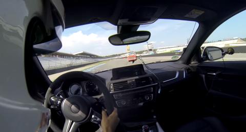 BMW M2 CS vuelta rápida en Hockenheim