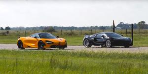 Hennessey McLaren 600LT vs McLaren 720S