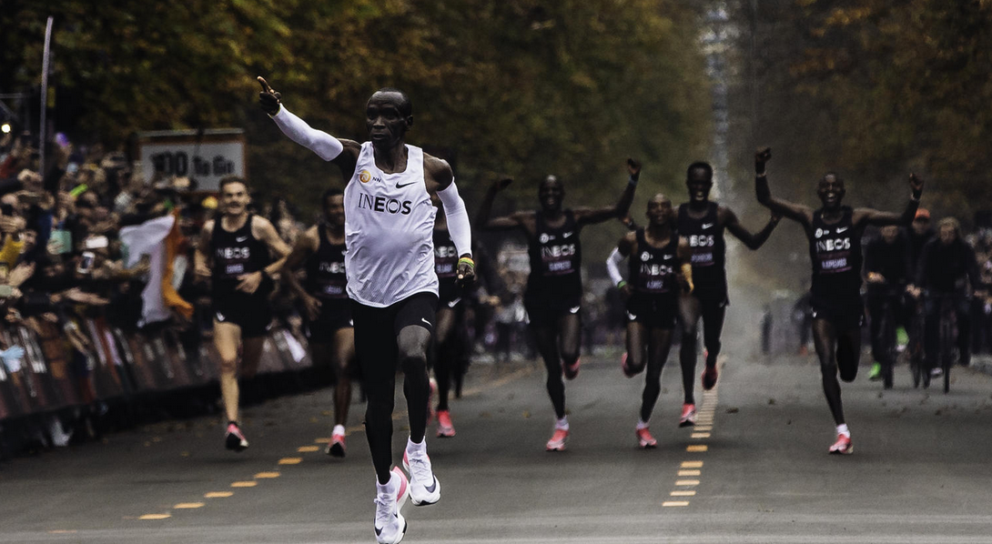 La ciencia detrás del récord en maratón de Kipchoge