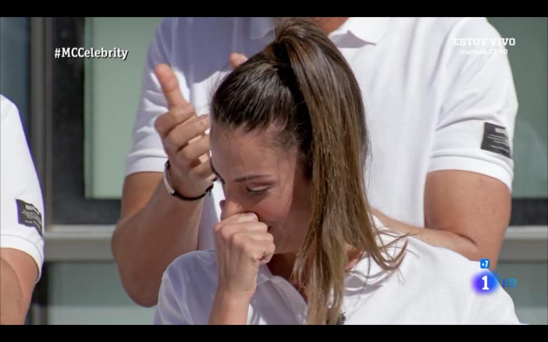 Almundena cuenta la lección de vida que le da su amiga y ex compañera