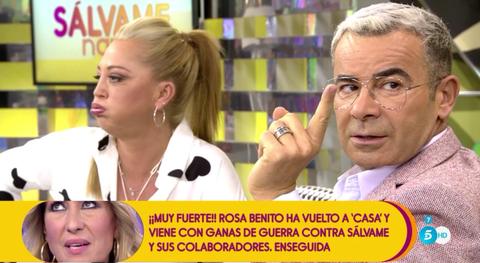 Belén y Jorge Javier habla de un problema