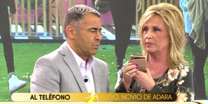 Jorge Javier llama a Hugo para hablar de Adara