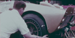 Ford GT40 con neumáticos Goodyear en Le Mans '66