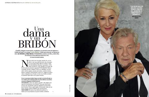 Helen Mirren e Ian McKellen