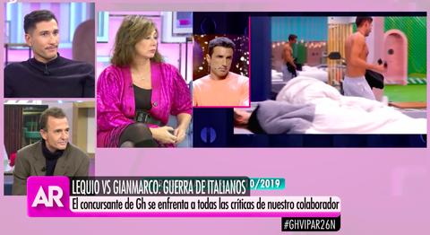 Gianmarco y Alessandro Lequio, a la gresca por Adara