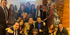 Los presentadores de Telecinco se van de fiesta