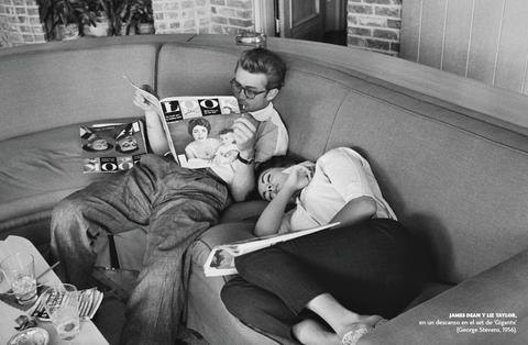 James Dean y Liz Taylor en el Calendario Fotogramas 2020